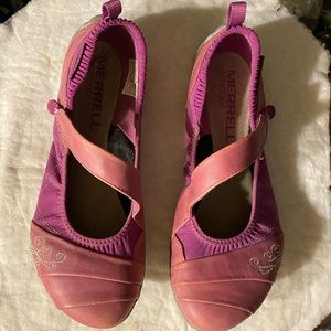 MERRELL US 7 Barefoot Wonder Glove Mulberry Shoes